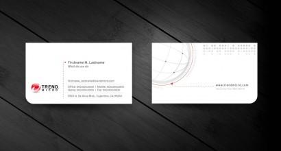 Cartão de Visita Trend Micro
