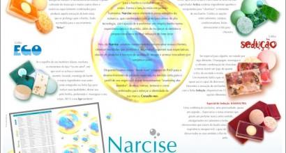 Logotipia produtos Narcise
