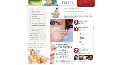 Website Clínica Tríade
