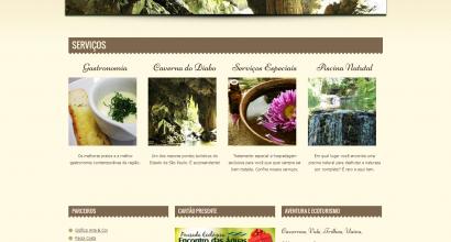 Website Wordpress Pousada Encontro das Águas