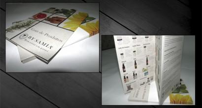 Folheto Catalogo By Samia