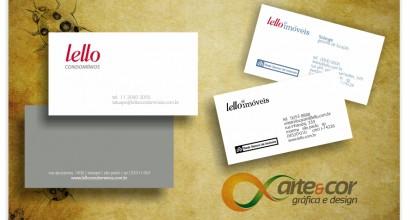 Cartão de Visita Lello
