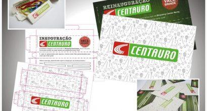 Embalagem caixinha Centauro