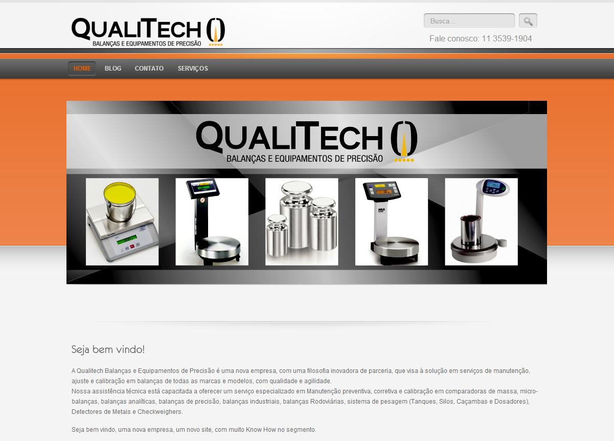 Qualitech Site em Wordpress