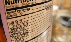 Rotulo nutricional - nutrition facts