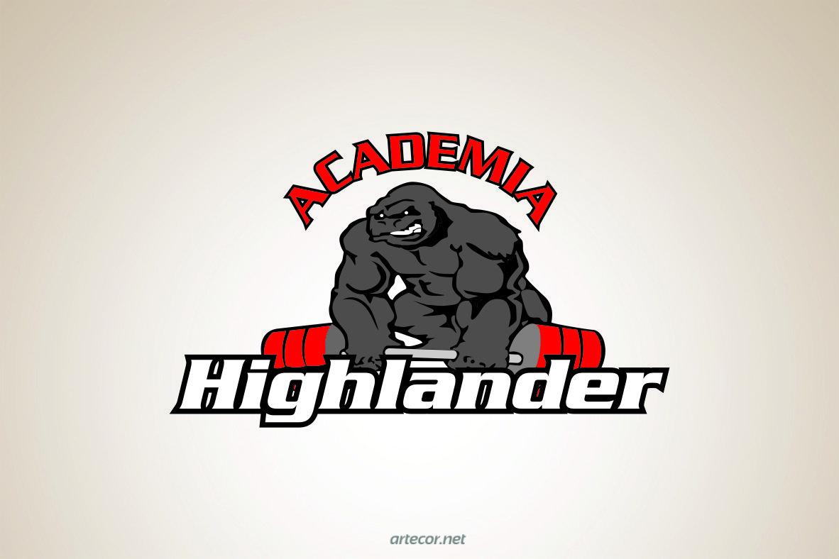 logotipo academia Highlander