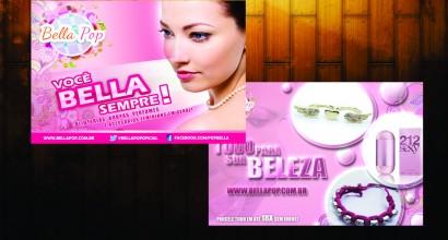 Criação e Impressão Folheto Bella Pop