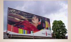 Banner aplicação em ferragem - Coca-Cola Clothing
