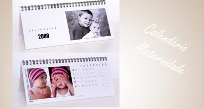 Calendario digital maternidade