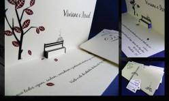 Convite de Casamento Martha e Rubens