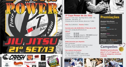 3ª Copa de Jiu-Jitsu Power Lotus
