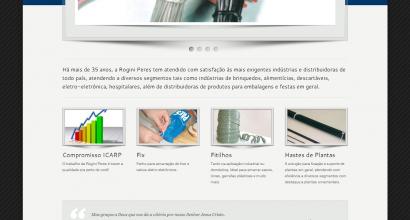 Criação de site em Wordpress - Rogini Peres