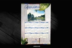 Brindes - Calendario de parede