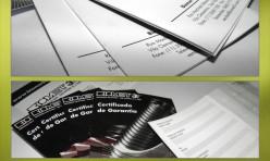 Certificado de Garantia - Biomet
