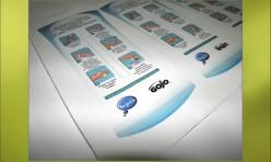 Rótulo Adesivo para Dispenser - Gojo