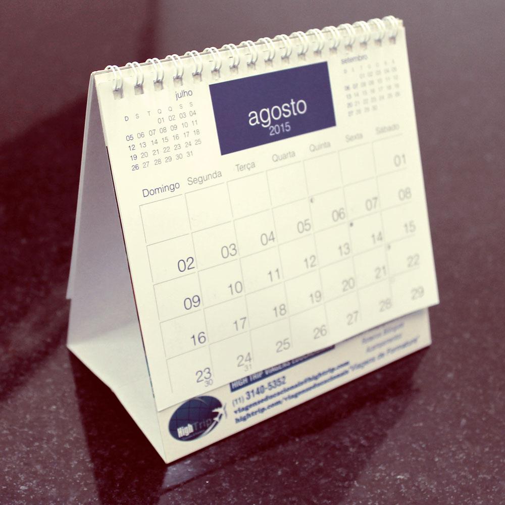 Calend rio de mesa gr fica offset e digital - Calendario de mesa ...