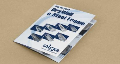 Catálogo para DryWall e Steel Frame