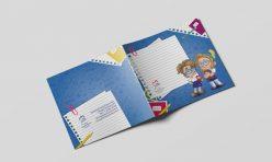 Caderno Personalizado para Colégios