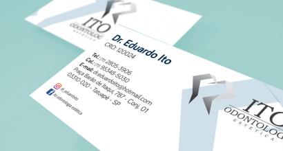 Cartão de Visita para Odontologia