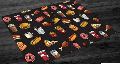 Jogo Americano para Fast Food