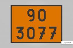 Placa de Simbologia de Risco - 90-3077