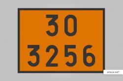 Placa de Simbologia de Risco - 30-3256
