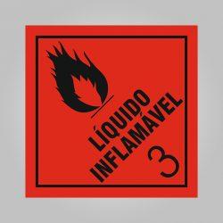 Placa de Simbologia de Risco Nº3