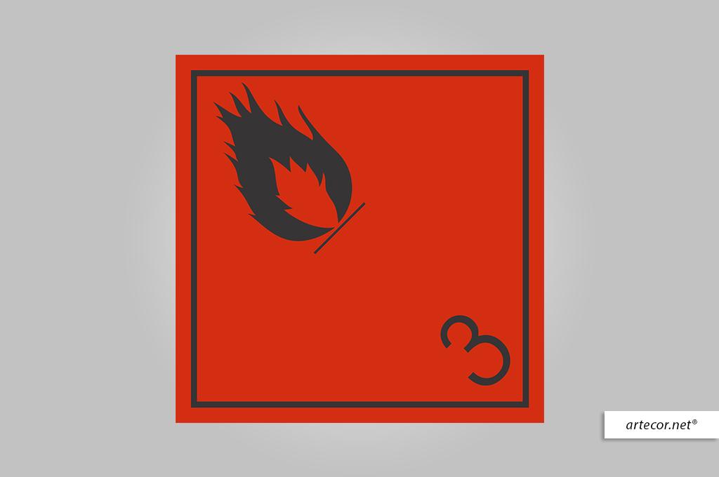 placa-de-simbologia-de-risco-liquido-inflamavel-n3