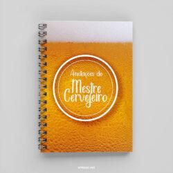 caderno cerveja